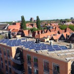 101 modules dak VVE flat 1 zonnepanelen